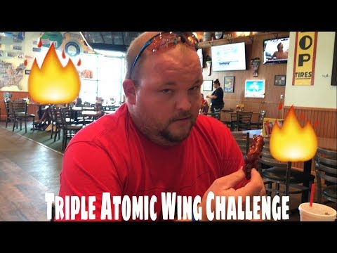 Quaker Steak And Lube Triple Atomic Wing Challenge