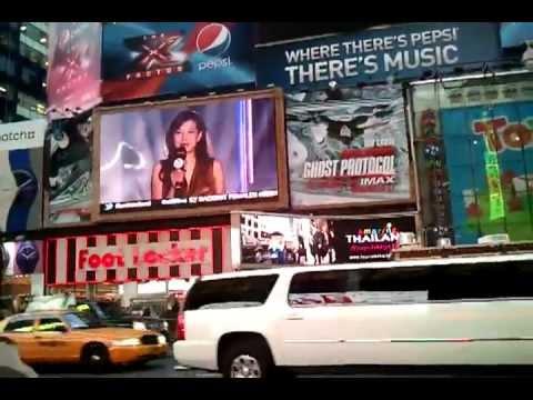 2NE1 IN MTV IGGY TIMES SQUARE NEW YORK CITY