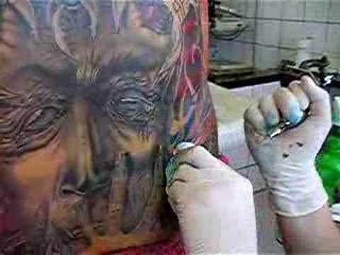 christian esposito tattoo tenerife
