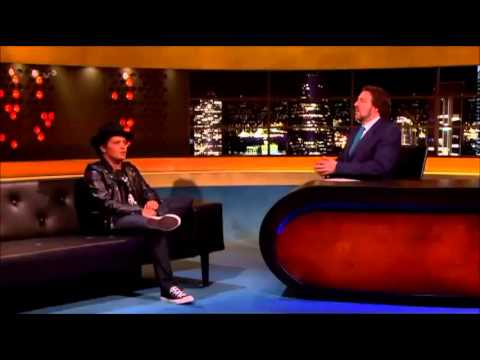 Bruno Mars Interview on The Jonathan Ross Show