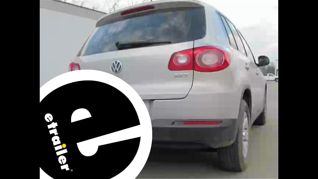 Trailer Wiring Harness Installation  2009 Volkswagen