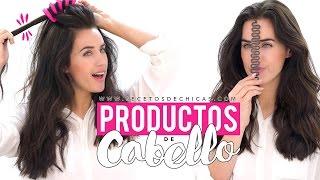 Probando productos raros de cabello para hacer peinados | Patry Jordan