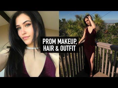 PROM MAKEUP, HAIR, & OUTFIT! (2018) | Mel Joy