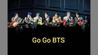 Lirik lagu BTS GOGO🤗