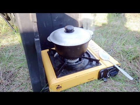 Походная газовая плита TRAMP TRG-006