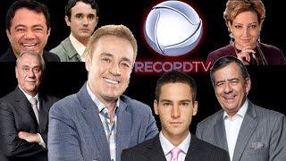 O que está acontecendo na Record TV ? Gugu, Marcelo Rezende, Shaolin, Paulo Henrique Amorim...