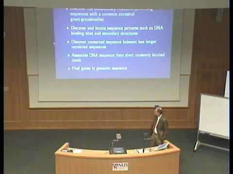IMS Public Lecture: Computer and Genomes