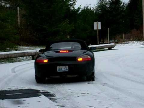 porsche boxster snow ice winter youtube. Black Bedroom Furniture Sets. Home Design Ideas