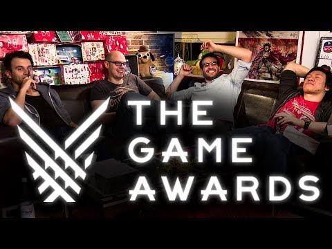 The Game Awards 2017 | Deutscher Stream mit Fabian, Gregor, Ilyass und Viet
