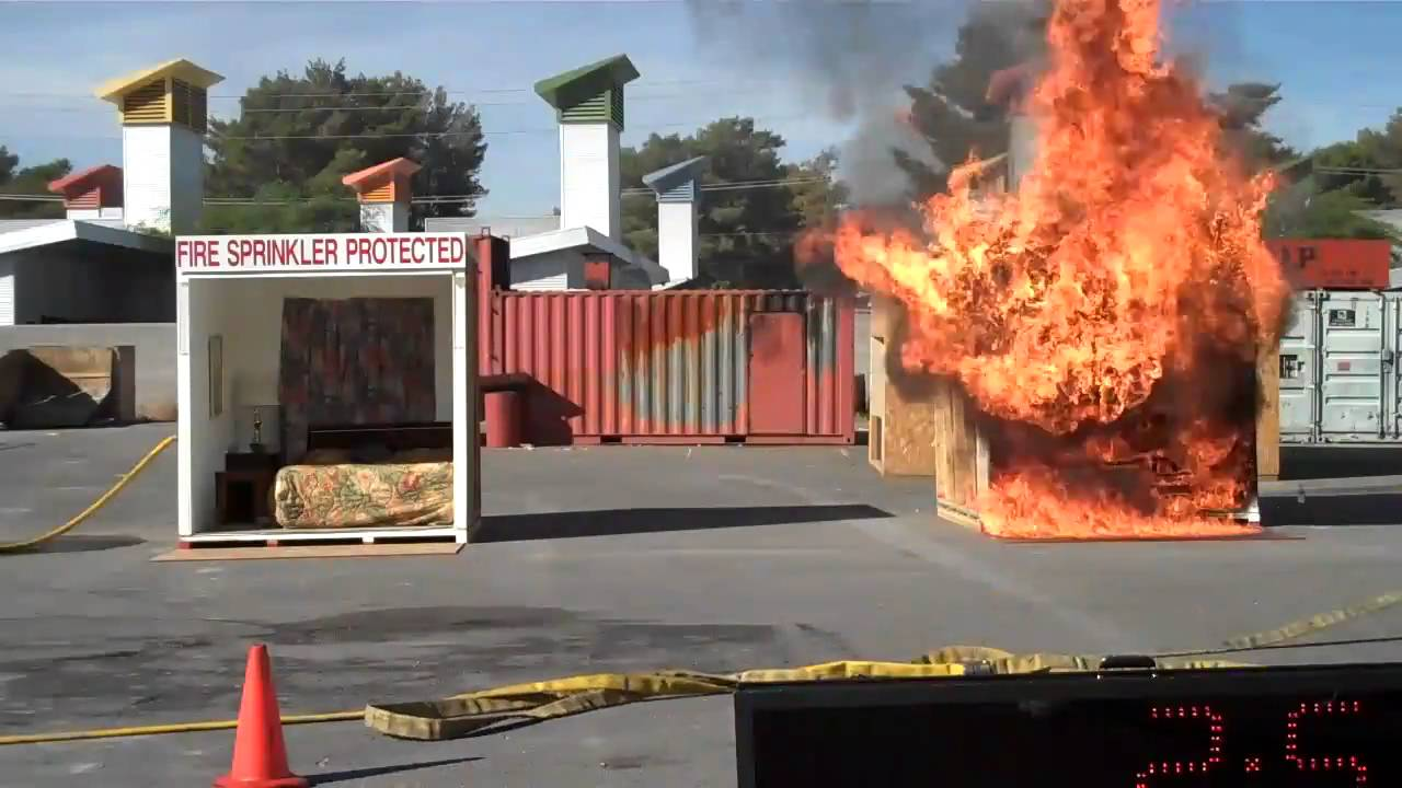 Fire Fighting in Apartments - Fire Extinguisher & Fire ...  |Fire Figher Demonstration