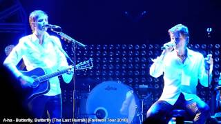 A-ha - Butterfly, Butterfly [The Last Hurrah] - Farewell Tour 2010 LIVE