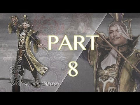 Dynasty Warriors 7: Xtreme Legends Walkthrough PT. 8 - Battle of Jieqiao (Yuan Shao)
