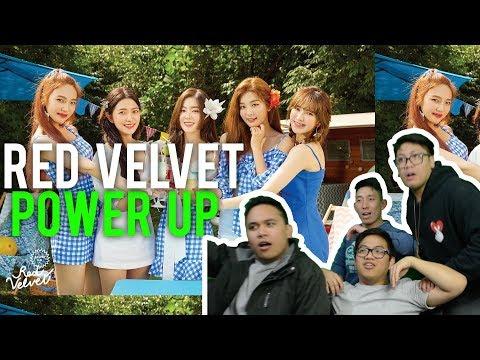 """RED VELVET """"POWER UP"""" to new levels.. (MV Reaction)"""