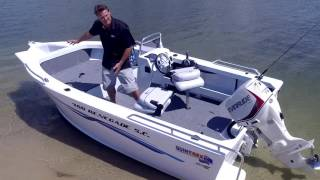 Quintrex 460 Renegade  - Boat Reviews on the Broadwater