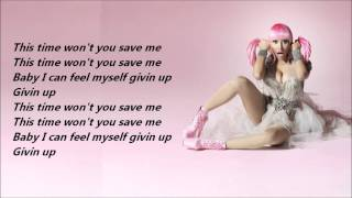 Nicki Minaj - Save Me /\ Lyrics On A Screen
