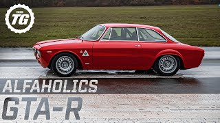 Chris Harris vs the £325k Alfaholics GTA-R Restomod: the best Italian driving experience? | Top Gear