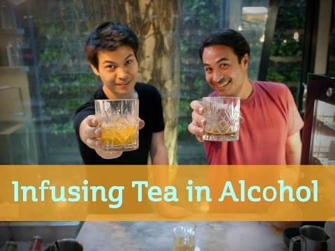 Infusing Tea in Alcohol