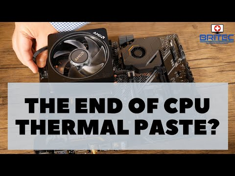 The End of Thermal Paste?