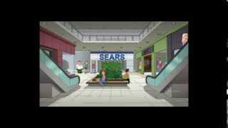 family guy goes to sears