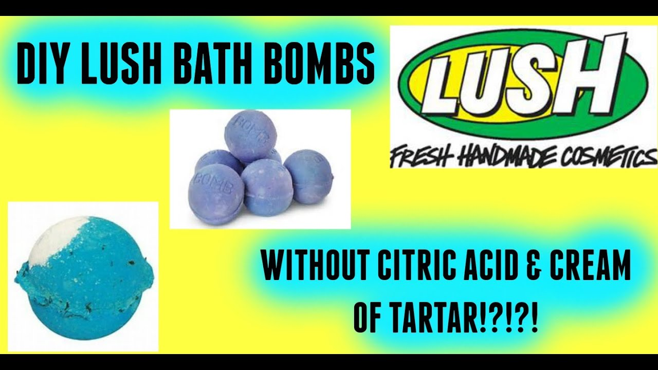 diy lush bath bombs without citric acid and of tartar diy lush bath bombs without citric acid of tartar