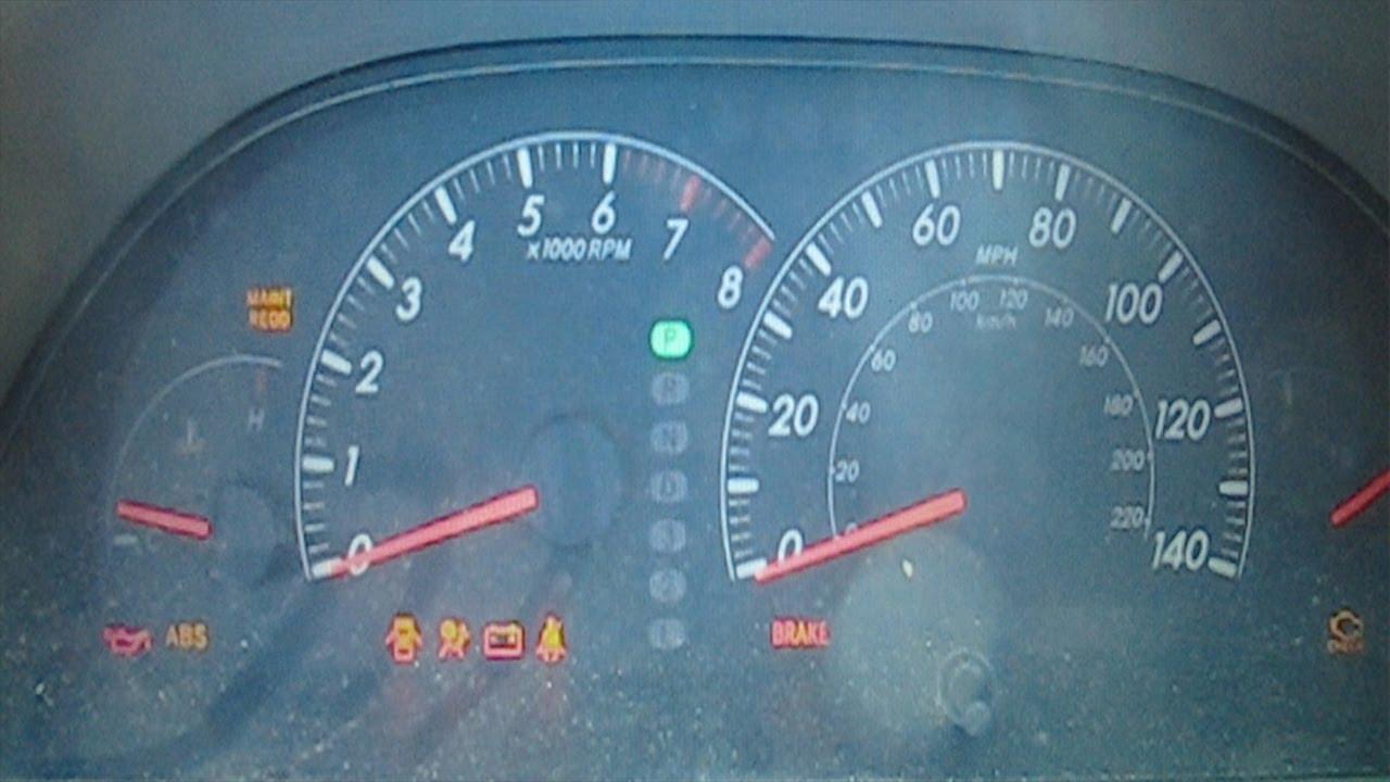How To Reset Maintenance Light Toyota Camry 05 06