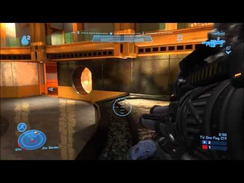 Halo Reach Title Update One-Flag Capture the Flag No Commentary by Protomario