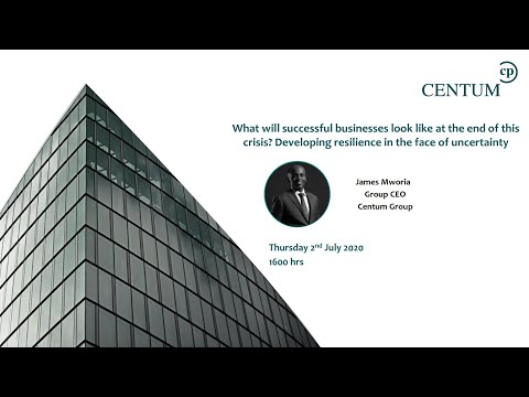 Developing resilience: What will successful businesses look like at the end of this crisis?