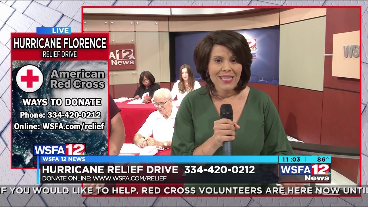 Donations top $30K to WSFA 12 News, American Red Cross