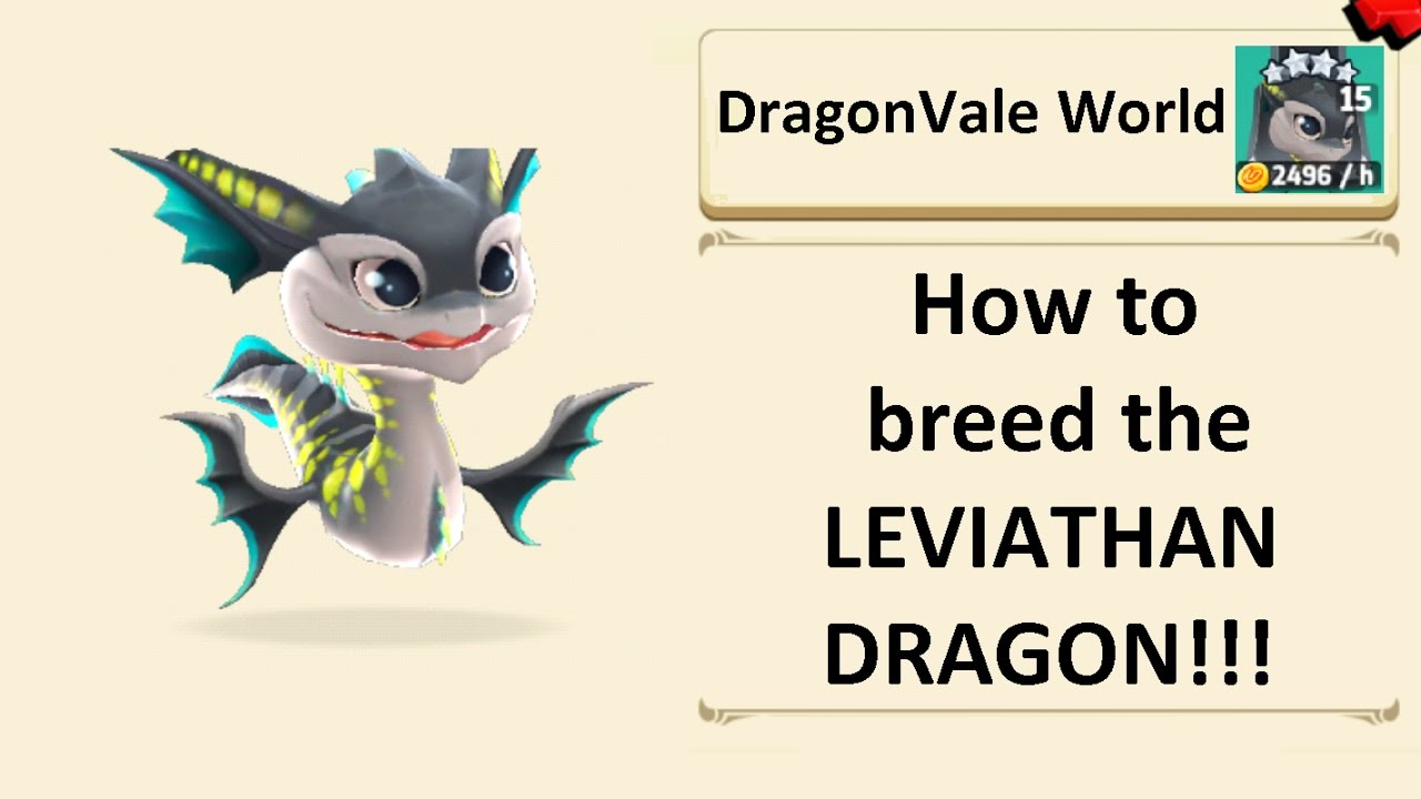 how to get leviathan dragon