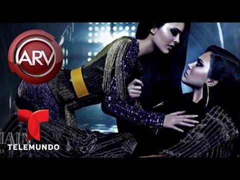 Kim Kardashian publica una foto desnuda con pintura | Al Rojo Vivo | Telemundo