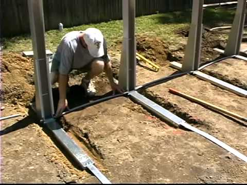 Do-It-Yourself Oval Above Ground Swimming Pool Installation - 1 of 2