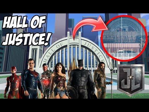 HALL OF JUSTICE FILTRADO?! (Salón de la Liga de la Justicia) Justice League!