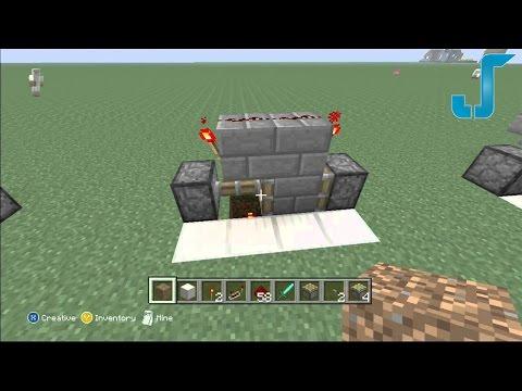 Minecraft Xbox: T-Flip Flop Switch [TUTORIAL] SUPERCHARGED!