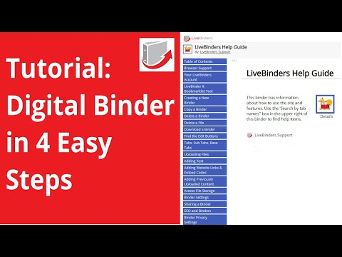 Digital Binder : How To Create One In 4 Easy Steps  For Free (2018)