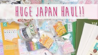 HUGE JAPAN STATIONERY HAUL! ♥ A Beautiful Fable