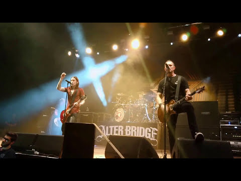 ALTER BRIDGE - Open Your Eyes - Hannover 15.10.2017