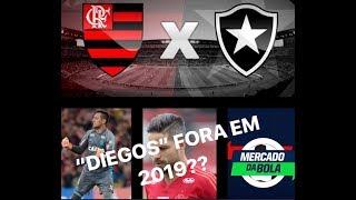 LIVE PRÉ JOGO FLA X BOT/ MERCADO DA BOLA/NOVELA D.ALVES/SUB17/DIEGO RIBAS DE SAÍDA!?