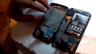18. LG Google Nexus 4 E960 Замена дисплея и сенсора. Как разобрать телефон?
