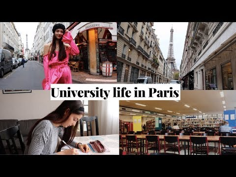 Week in the Life as a University Student in Paris, France 📚  (Sorbonne)