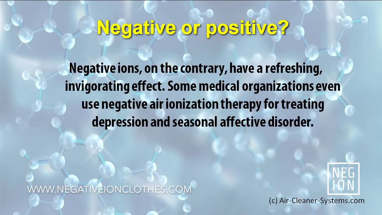 Feeling Positive about Negative Ions – Negative Ion Clothes from