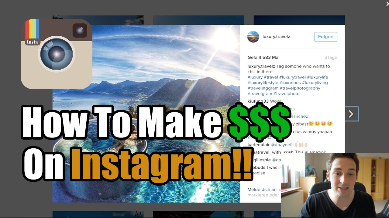 How To Make Money On Instagram - Tutorial 2016