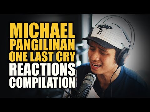 Wish 107.5 MICHAEL PANGILINAN ONE LAST CRY Reactions Compilation