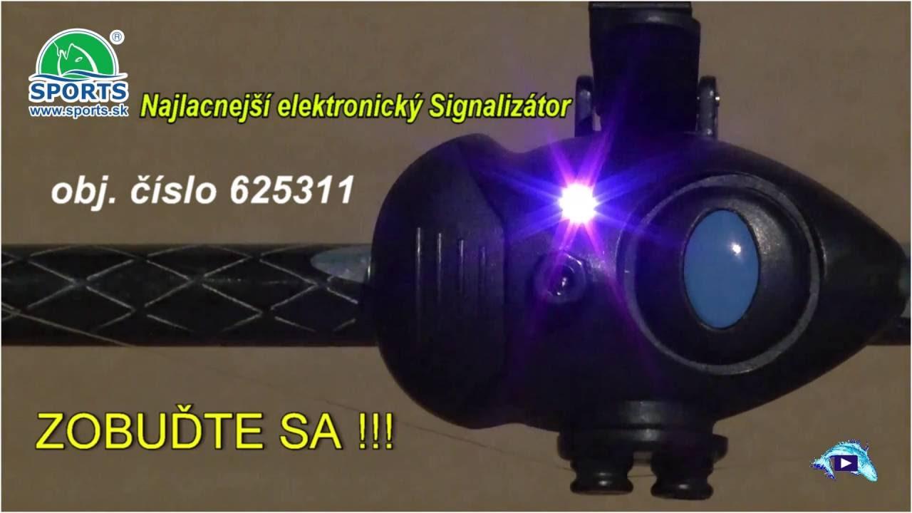 bed232f8c Najlacnejší rybársky elektronický signalizátor, obj.č.: 625 311 ...