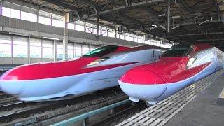 2015 新幹線映像集 迫力の高速通過編 JR東日本管内 Rapid passage of Shinkansen thumbnail