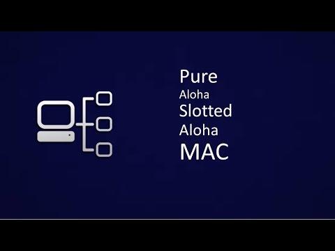 Pure Aloha and Slotted Aloha : Contention Based MAC(Medium Access Control) Protocols