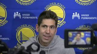 Warriors General Manager Bob Myers' end-of-season press conference