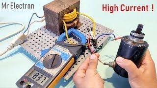 2 Eski Mikrodalga Fırın Trafo kullanarak Yüksek Akım DC Motor 220V AC 12 V 100 AMP DC - Bölüm