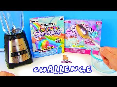 БЛЕНДЕР ПРОТИВ ЛОЖКИ СЛАЙМ ЧЕЛЛЕНДЖ! Blender Slime #Challenge #Лизун Своими Руками