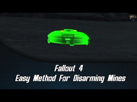 Fallout  4 Easy Method For Disarming Mines (Guide)