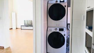 [직렬세트]삼성 그랑데 17kg 드럼세탁기+삼성 그랑데…